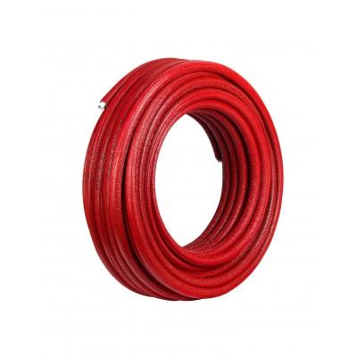 Rura Pex/Al/Pex 25 x 2,5 mm w otulinie czerwonej 6mm