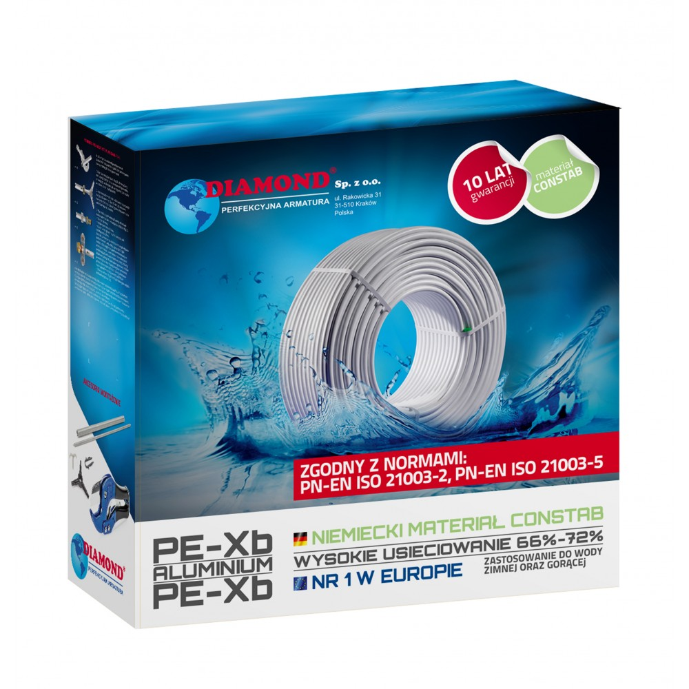Rura Pex/Al/Pex 20 x 2 mm zwój 100mb