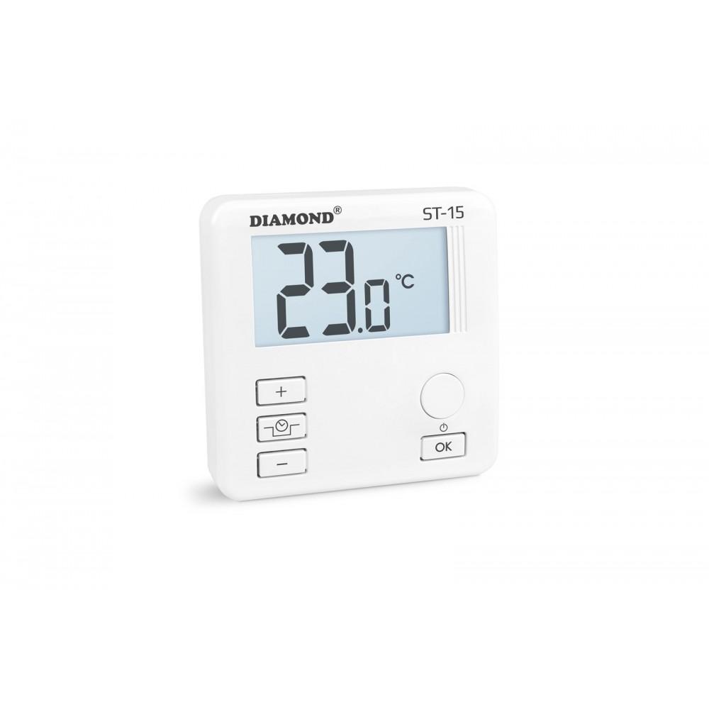 Regulator Temperatury: Dobowy, Przewodowy Typ ST-15