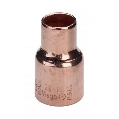 Mufa miedziana redukcyjna 28x18mm