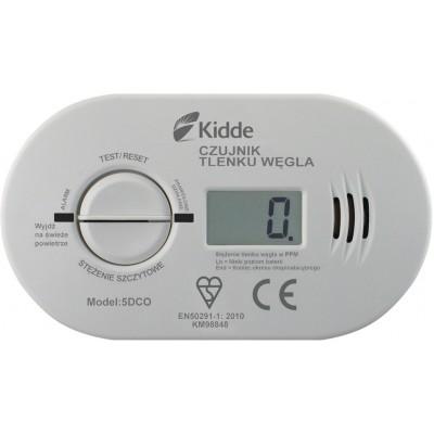 Czujnik tlenku węgla z wyświetlaczem LCD (baterie w komplecie)