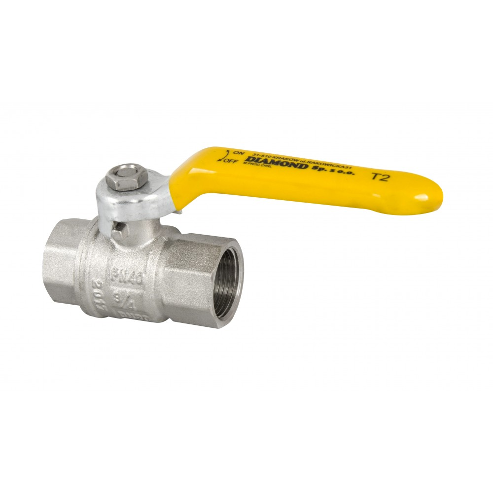 Zawór kulowy do gazu DN32 5/4 cala