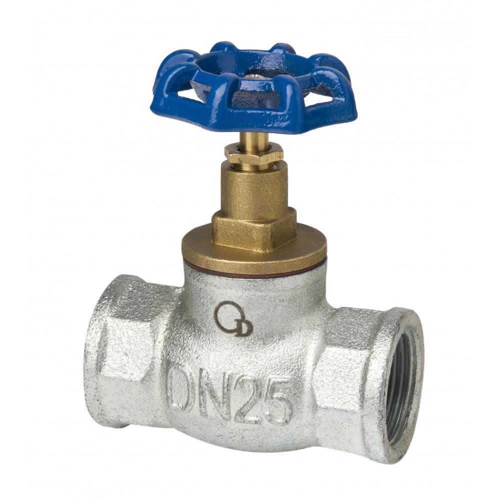 Zawór zaporowy żeliwny ocynkowany DN50 2 cale