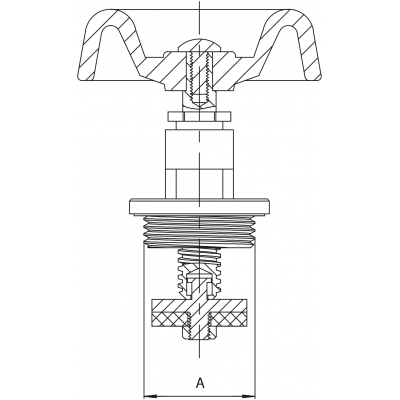 Głowica do zawóru żeliwnego DN50 2 cale - część zamienna