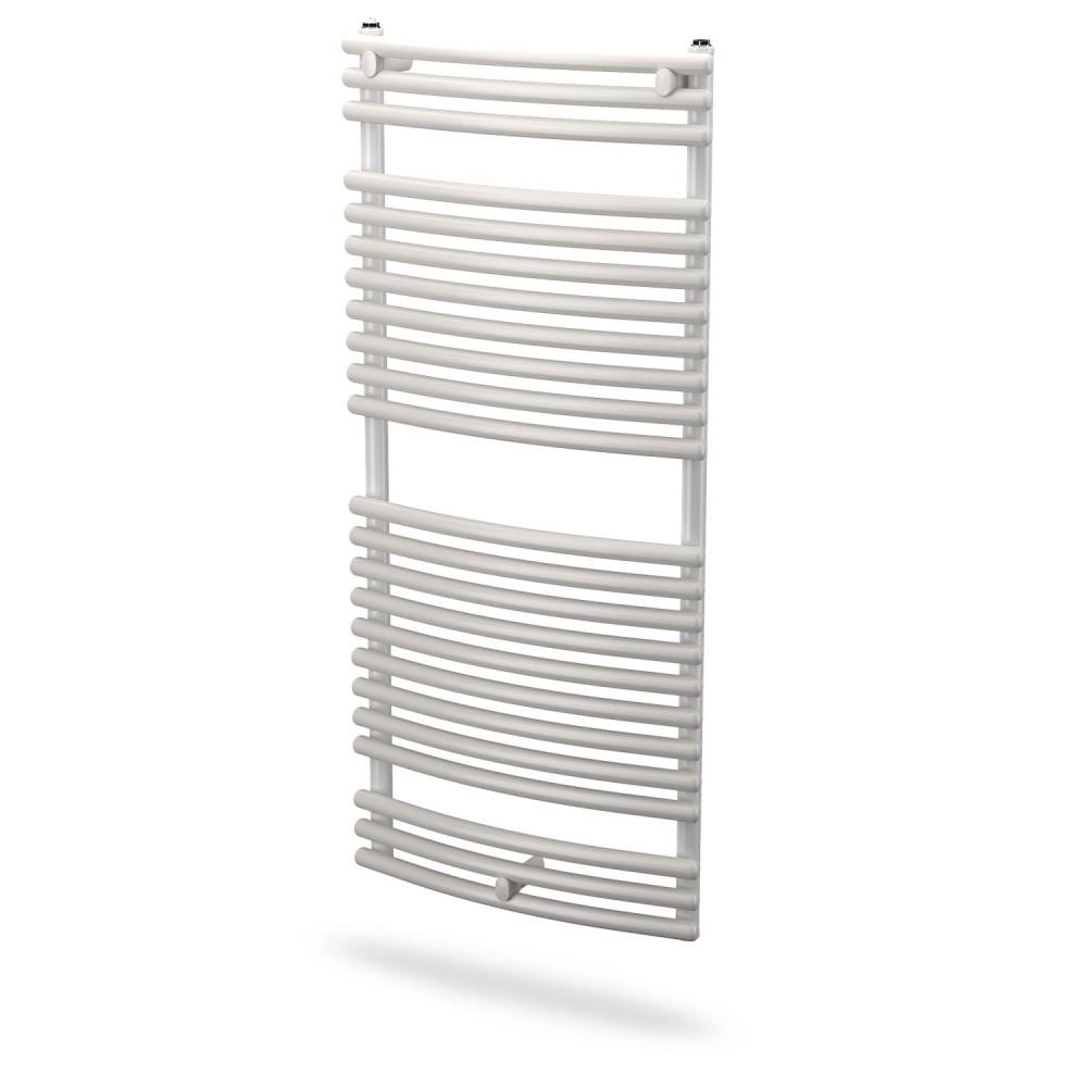 Grzejnik łazienkowy Santorini-C 400x700 300W, kolor: biały RAL9016