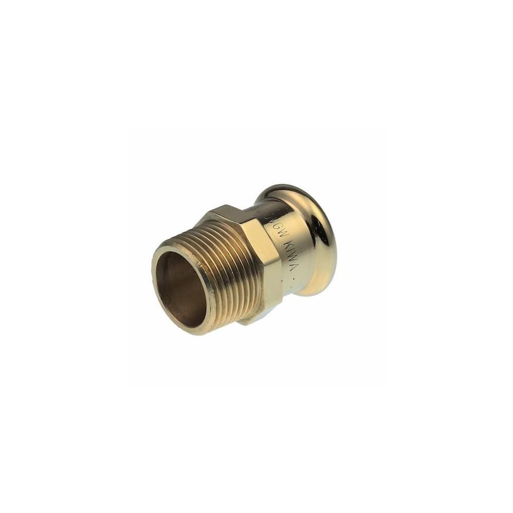 XPress COPPER S3 Nypel GZ 15mm x 1/2