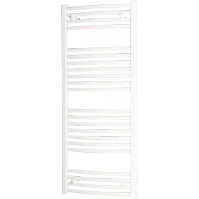 Grzejnik łazienkowy ONNLINE PBT 80X50 358W łukowy, podłącz.dolne, rozstaw= 449mm, biały