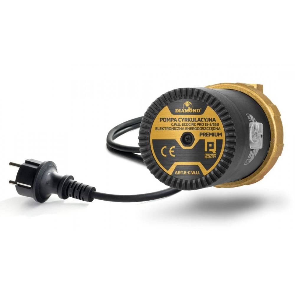 Elektroniczna, energooszczędna pompa cyrkulacyjna Premium 15-6B