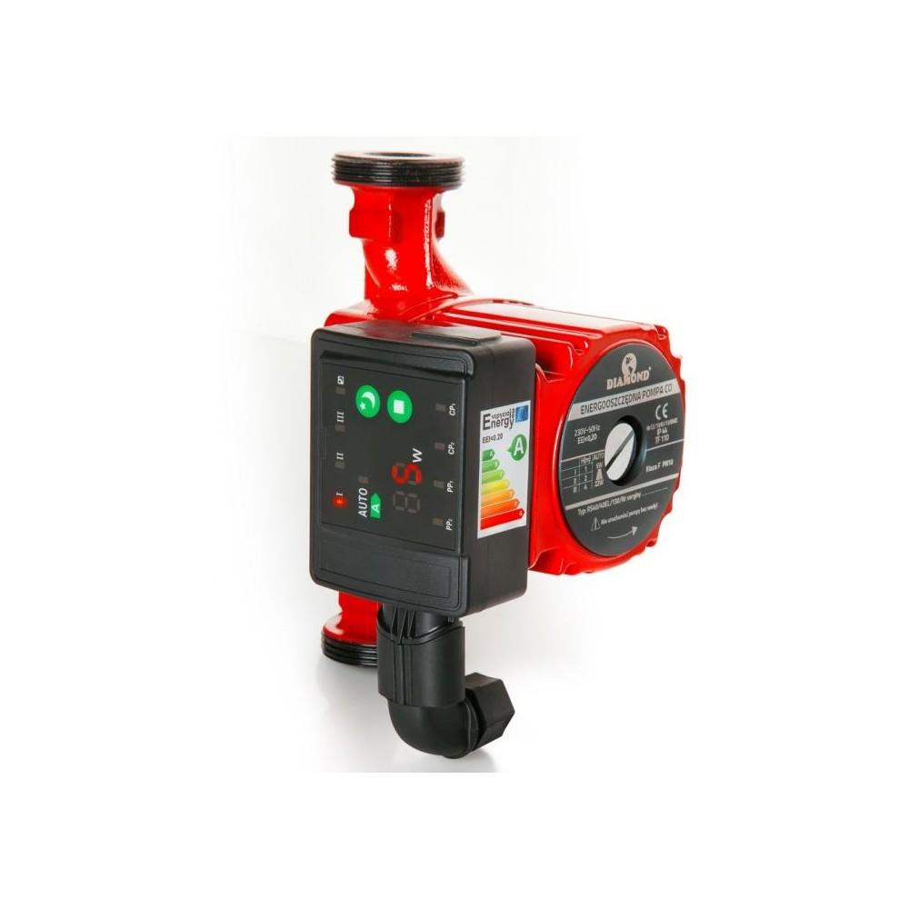 Elektroniczna, energooszczędna pompa c.o. RS 25/60/180mm