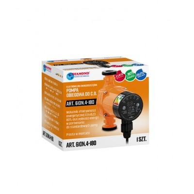 Elektroniczna, energooszczędna pompa c.o. 25-40/180
