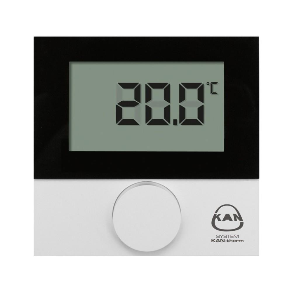 Termostat przewodowy pokojowy z wyścietaczem LCD BASIC+ 230V