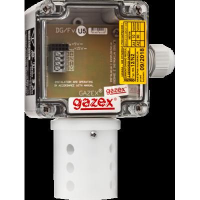 Dwuprogowy detektor gazów DG-12/N