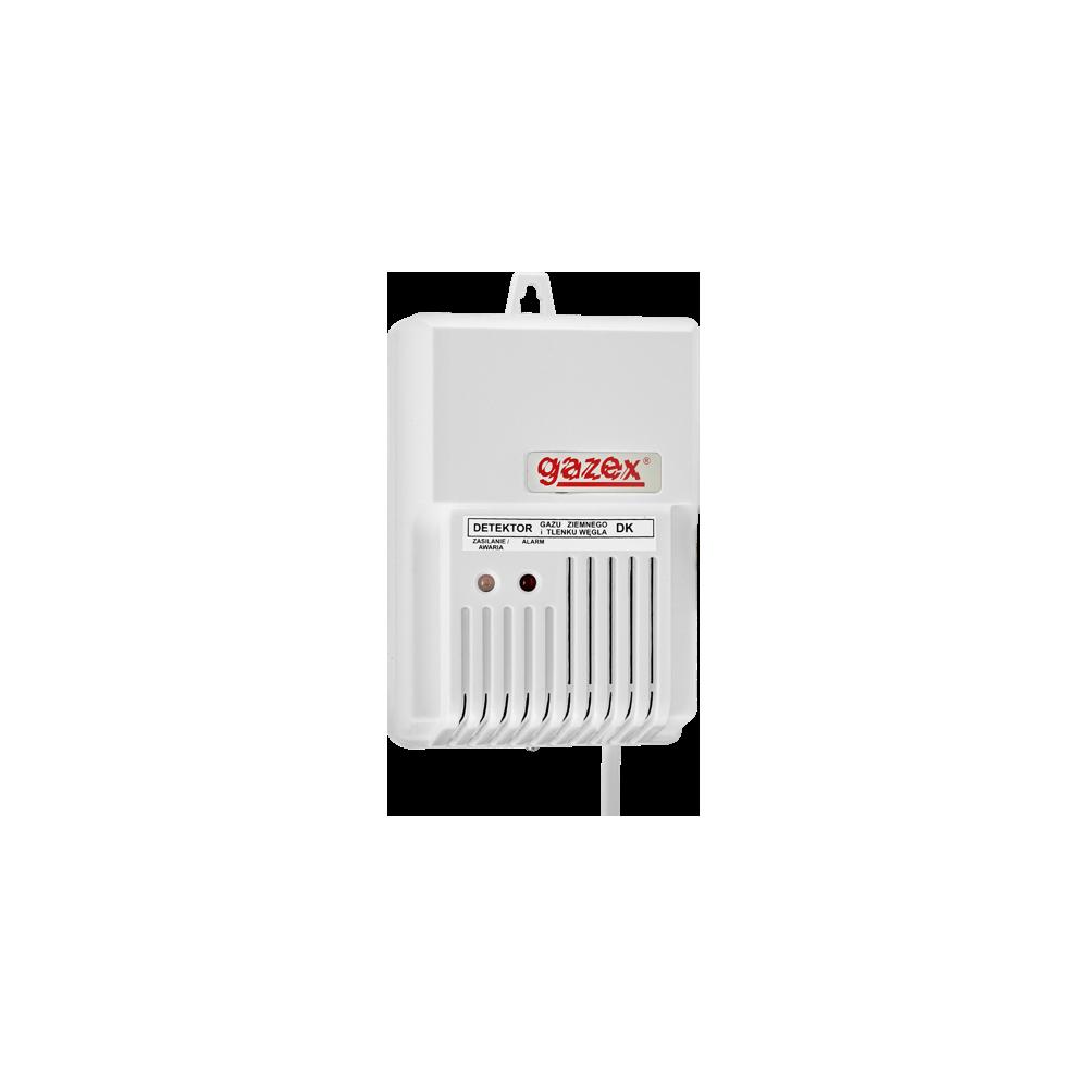 Domowy detektor gazu ziemnego DK-12.Z (ster.zaworem), 230V