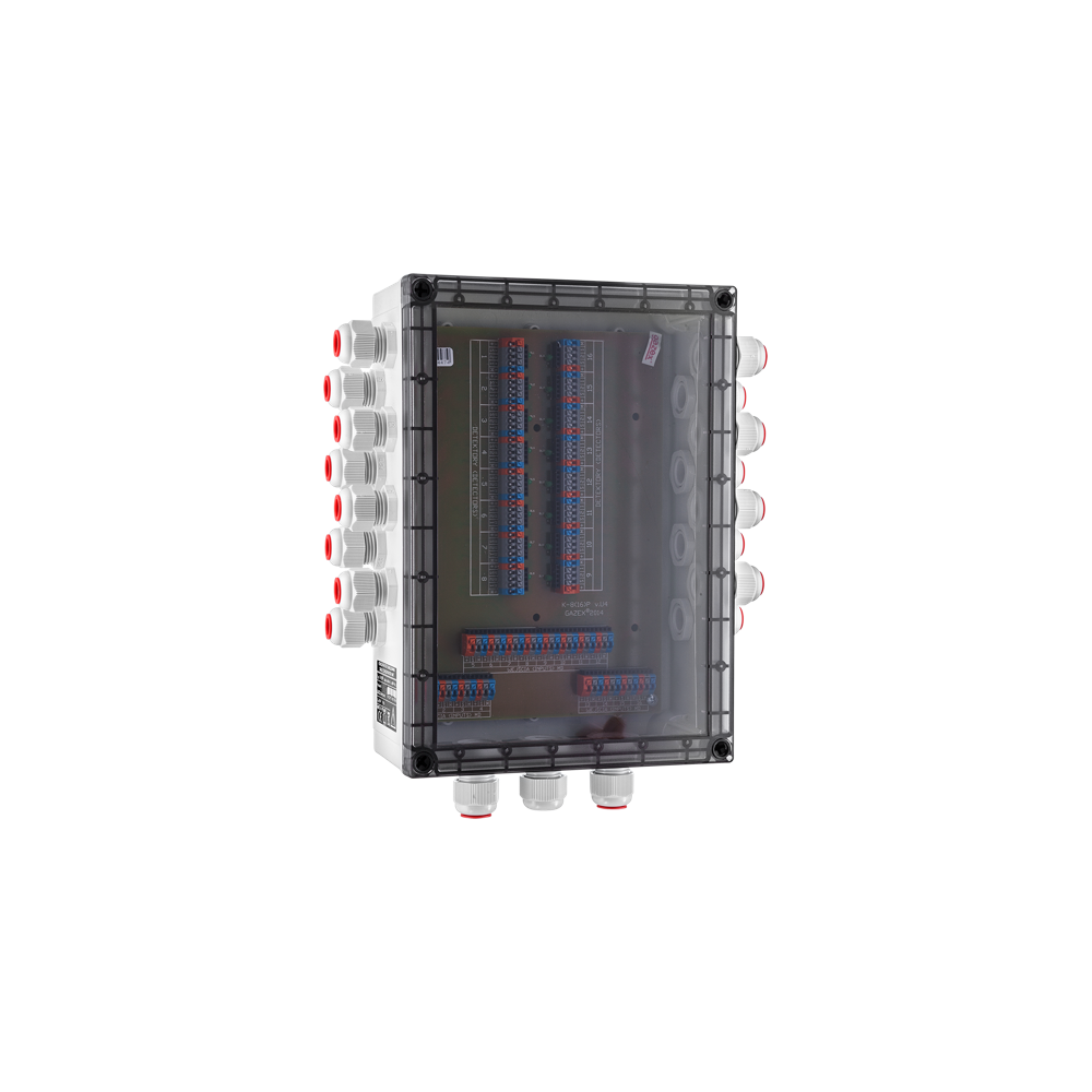 Koncetrator okablowania K-8P