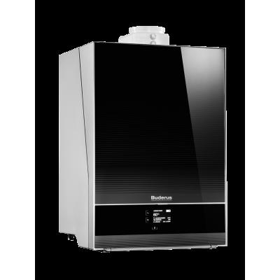 Buderus Logamax Plus GB192-35iH front:czarny - jednofunkcyjny