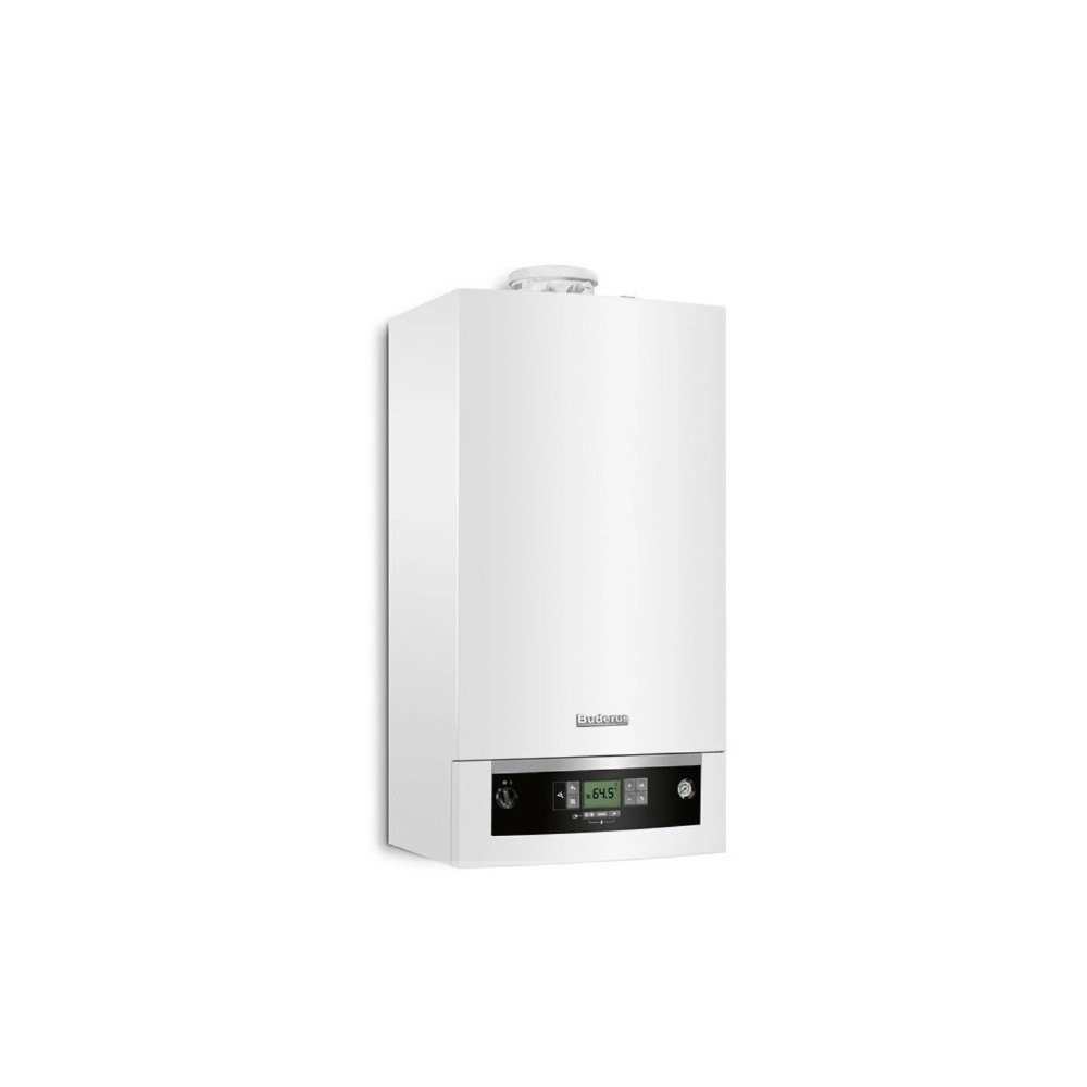 Buderus Logamax Plus GB072 14KW V2+RC310+FA (biały) - jednofunkcyjny