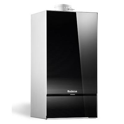 Buderus Logamax Plus GB172i-20H 20kW front:czarny + RC310+FA (czarny) - jednofunkcyjny