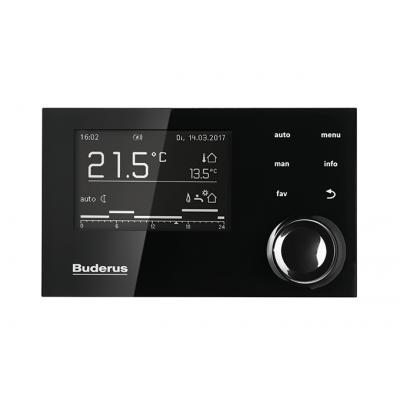Buderus Logamax Plus GB072 24KW V2+RC310(czarny)+web KM200V2 - jednofunkcyjny