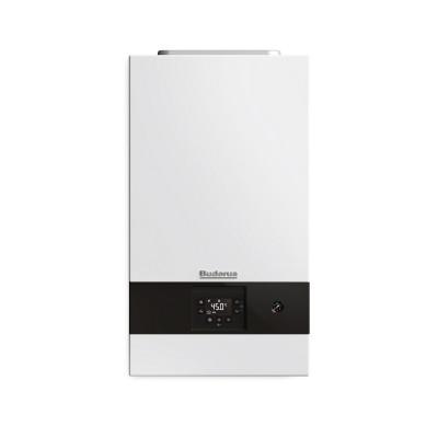 Buderus Logamax plus GB122i-24KH + RC310 Biały - Dwufunkcyjny