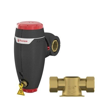 Separator zanieczyszczeń ze zintegrowaną izolacją XStream Clean DN25
