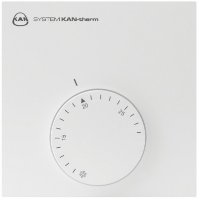 Termostat przewodowy pokojowy ogrzewanie/chłodzenie BASIC+ 24V