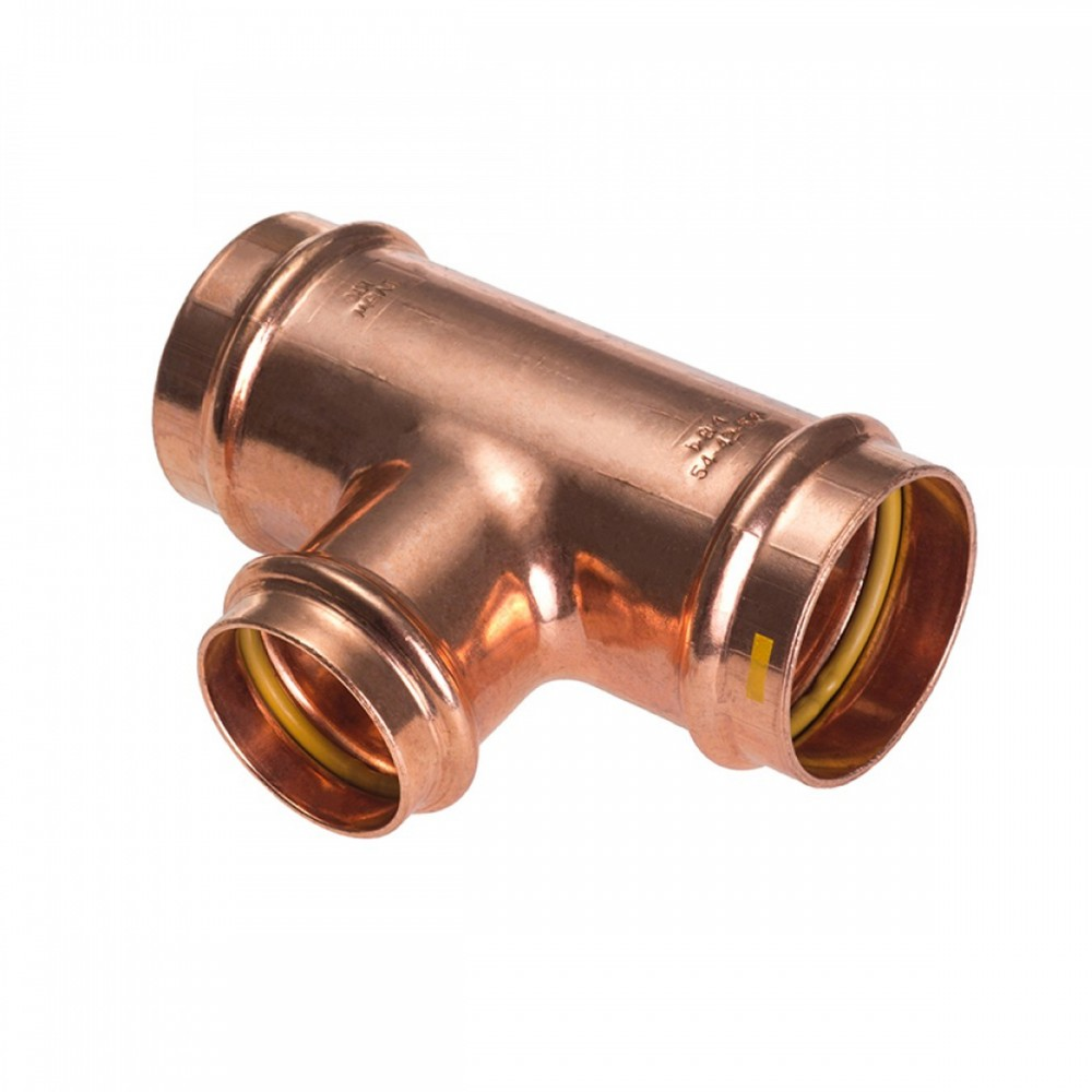 Trójnik redukcyjny 22x18x22mm B Press Gas