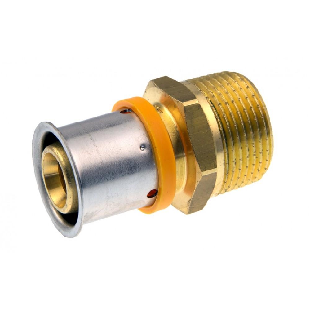 Złączka KAN-therm Press z gwintem zewnetrznym 20x2 G3/4