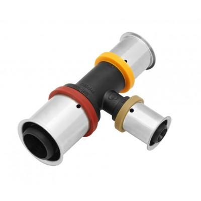 Trójnik KAN-therm Press PPSU z pierścieniem zaprasowywanym 20x20x16