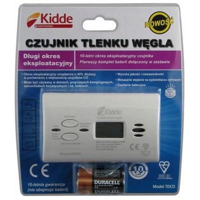 Czujnik tlenku węgla, czadu 7DCO z wyświetlaczem LCD (baterie w komplecie)